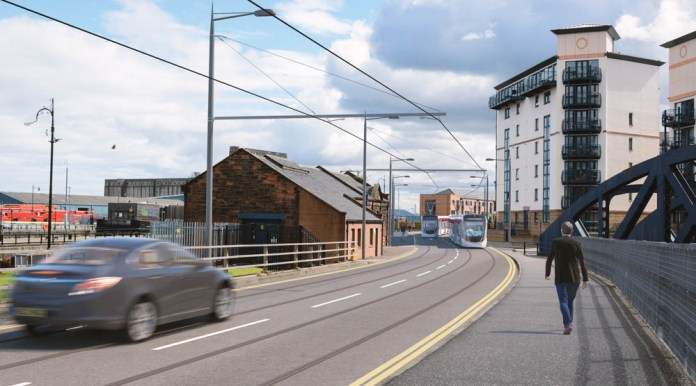 Tram extension may go down to Newhaven