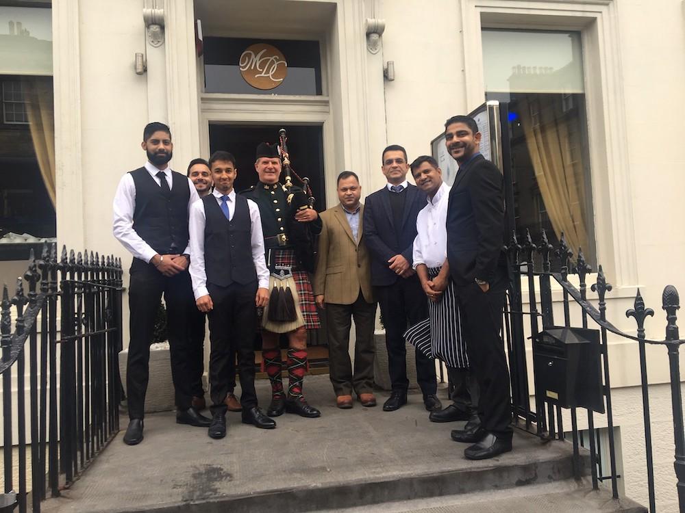 Mumbai Diners Club opens in Edinburgh's West End