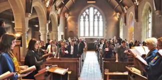 St Andrew's interior shot