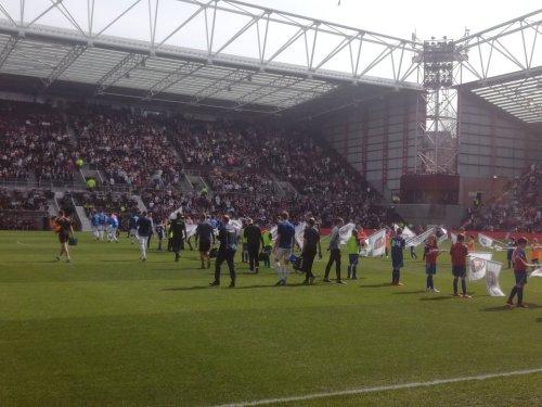 Hearts v Rangers, Tynecastle Park, Saturday 20th April 2019