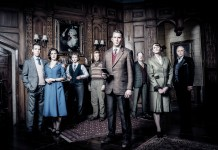 The cast of the Mousetrap, performed at the Edinburgh Playhouse 27 -29 May 2019