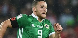 Hearts new striker Conor Washington