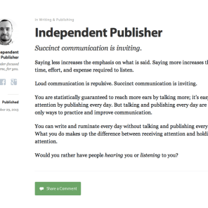Independent Publisher