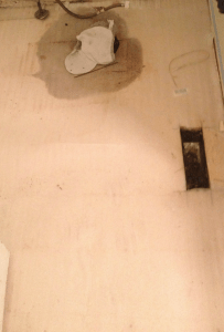 Toilet leaking under the flooring
