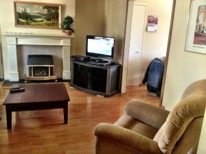 Furnished Rental living room