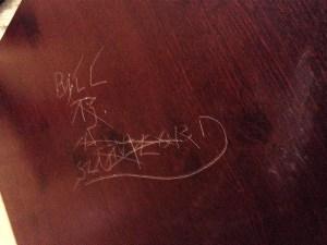 tenant defaces rental property - bad tenant