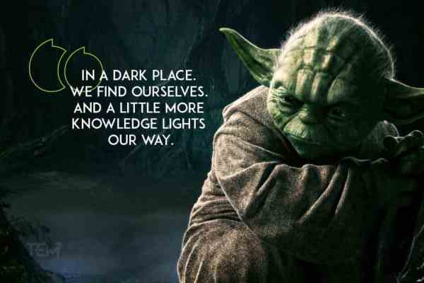 10 Motivational Yoda Quotes to Deal with Hard Times