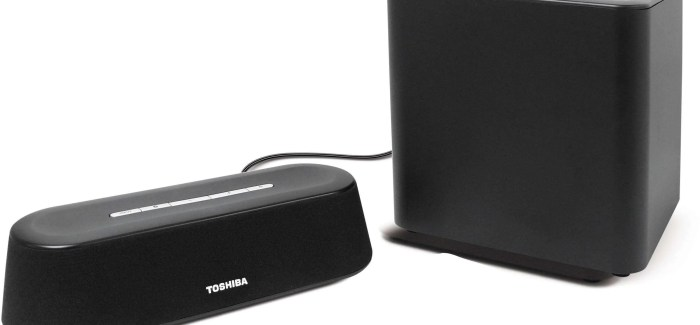 Toshiba Mini 3D Sound Bar Review: Good things come in small packages