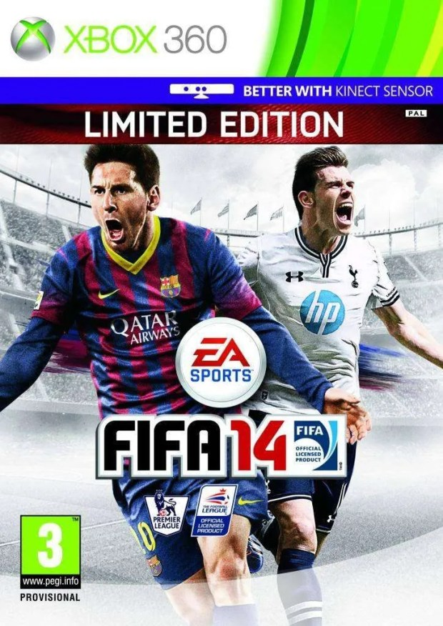 FIFA 14 cover-BAle
