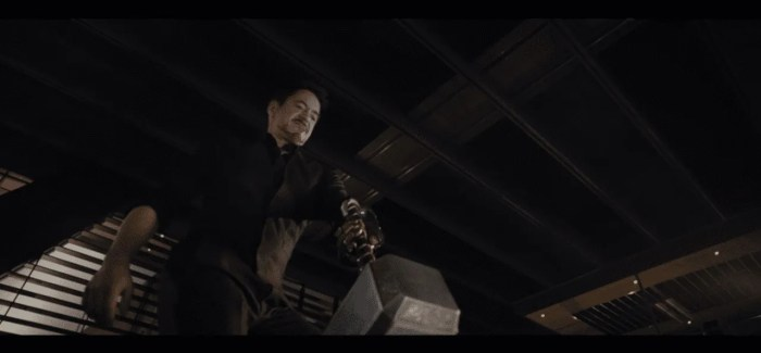 WATCH: New 'Avengers: Age of Ultron' Trailer Shows Iron Man Trying To Lift Thor's Hammer