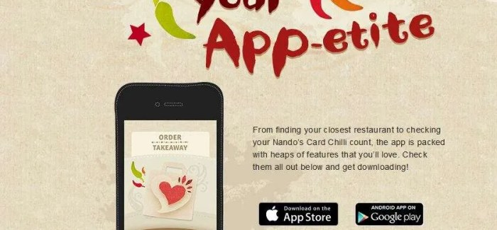 Nandos announce new Online Takeaway service