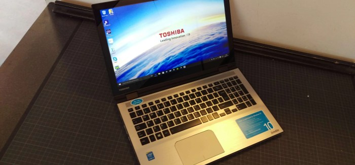 REVIEW: Toshiba Satellite Radius 15