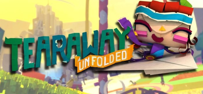 REVIEW: Tearaway Unfolded