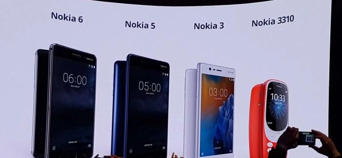 New Nokia smartphone range & Nokia 3310 coming to Ireland next week