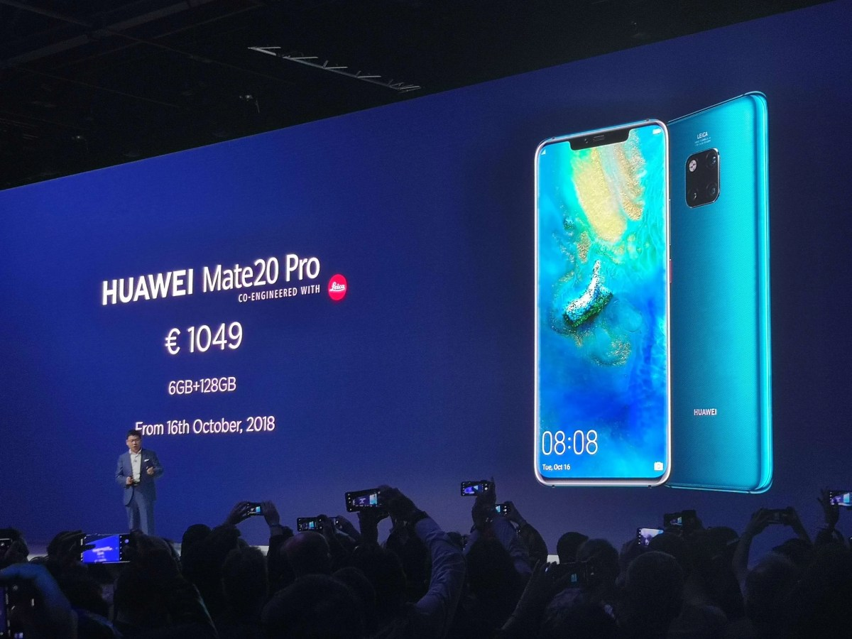 Huawei Announce the Huawei Mate 20 Pro - Arriving in Ireland Next Month