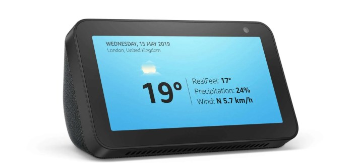 Amazon Announces Echo Show 5 – Arriving Next Month in Ireland