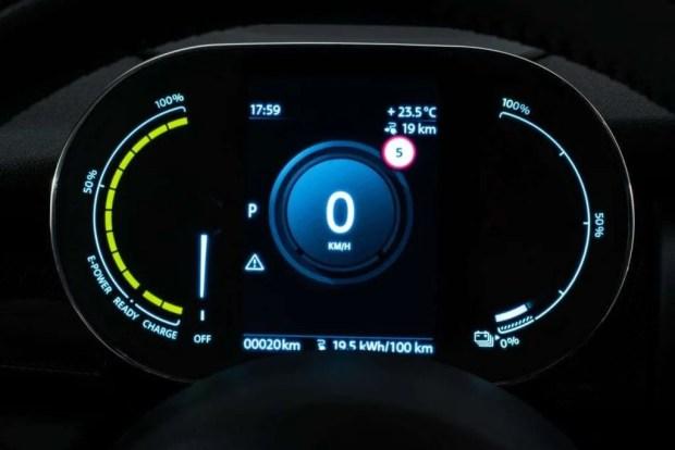 MINI Electric Digital Dashboard