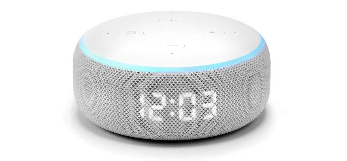 REVIEW: Echo Dot with Clock