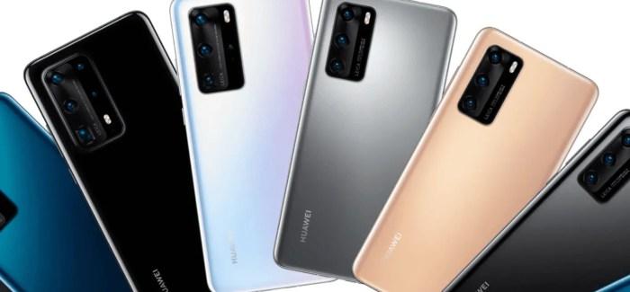 Huawei announce P40, P40 Pro & P40 Pro+