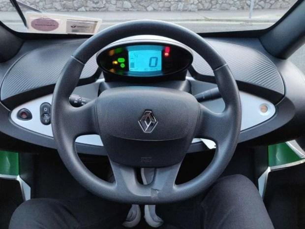 Renault TWIZY Dash