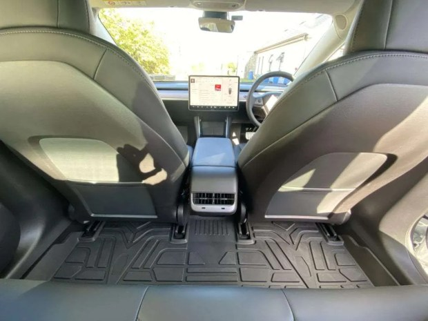 Tesla Model 3 Rear Cabin