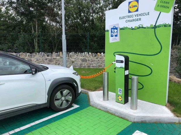 EasyGo Lidl 22KW AC Charging Point