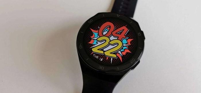 REVIEW: Huawei Watch GT2e – 'Fitness First' Smartwatch
