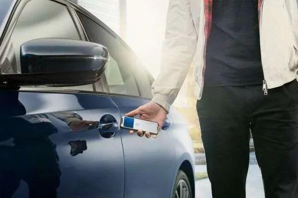 BMW Digital Key in iPhone