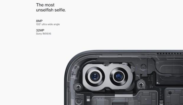 OnePlus Nord Selfie Camera