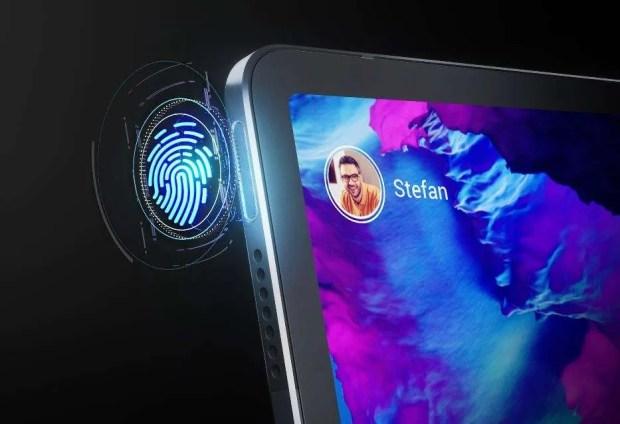 Lenovo Tab P11 Pro Fingerprint scanner