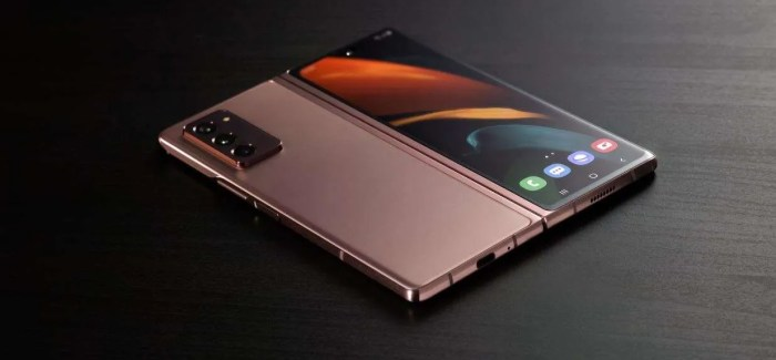 Samsung Ireland officially unveils the €2099 Galaxy Z Fold2 5G
