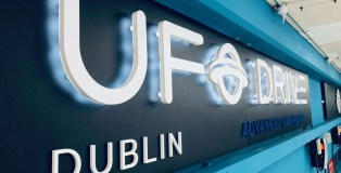 UFODRIVE Dublin Sign