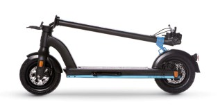 THE-URBAN xT1 black folded e-scooter Walberg