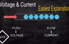 Basics of voltage & current   Easiest explanation   HD