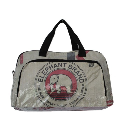Elephant Brand Recycled Extra Large Deluxe Zip Travel Bag 8