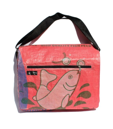 Recycled Extra Large Messenger Bags 4