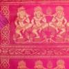 Apsara Dancer Bold Fuschia Detail