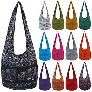 Elephant Long Hobo Bags