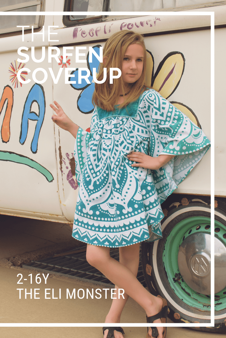 swim cover-up sewing pattern