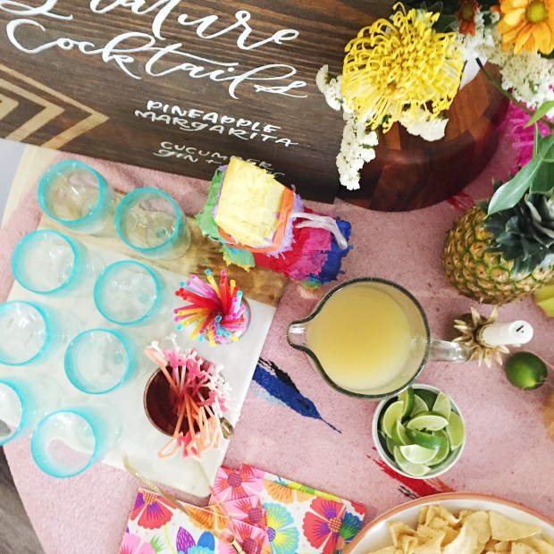 DIY Tropical Summer Fiesta | The ELL Blog