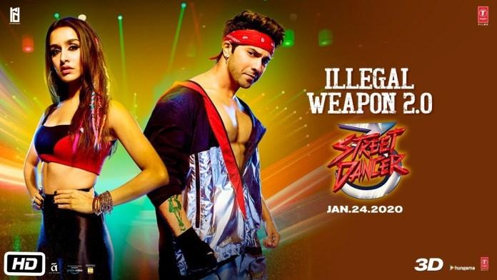 Illegal Weapon 2.0 Lyrics – Street Dancer 3D इल्लीगल वेपन लिरिक्स हिंदी एंड इंग्लिश