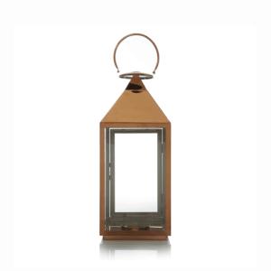 Medium copper lantern
