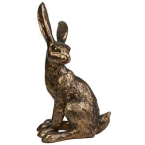 bronze hare ornament