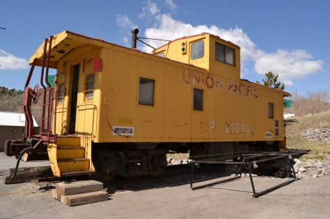 Union Pacific Railroad Car, Eureka