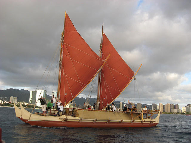 Hokulea photo from HongKongHuey