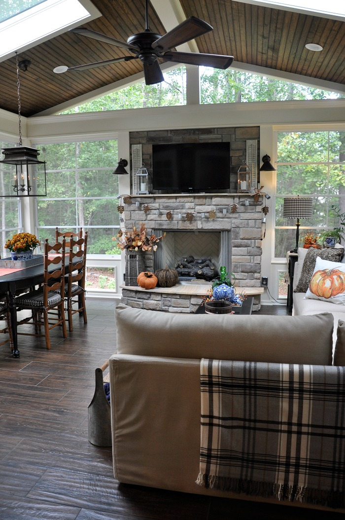 Fall 2016 Back Porch Tour on Enclosed Back Deck Ideas id=91907