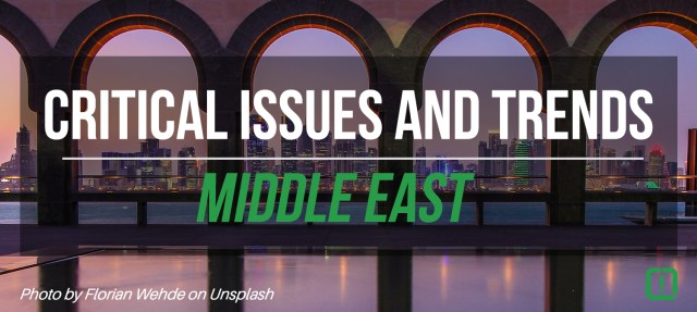 issues and trends middle east
