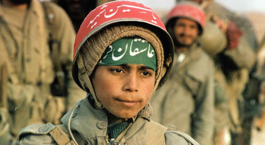 iran child soldiers