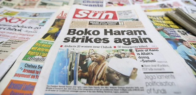 international response to boko haram