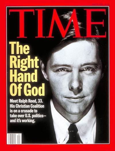 ralph reed christians in politics